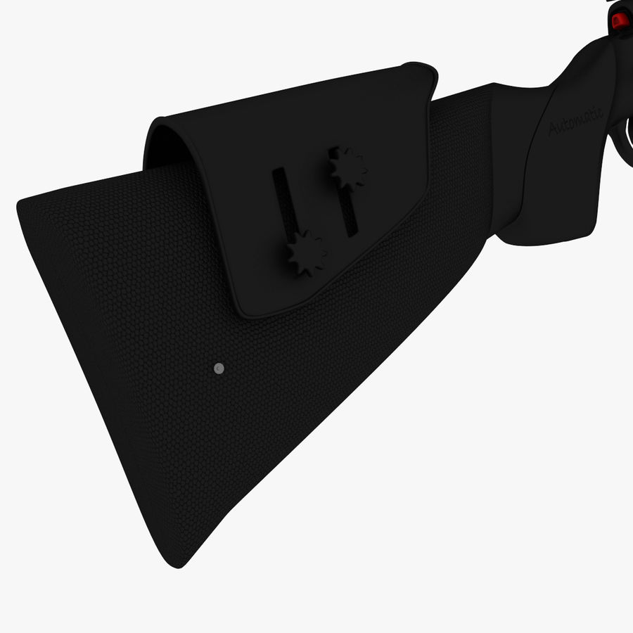 ライフル royalty-free 3d model - Preview no. 7