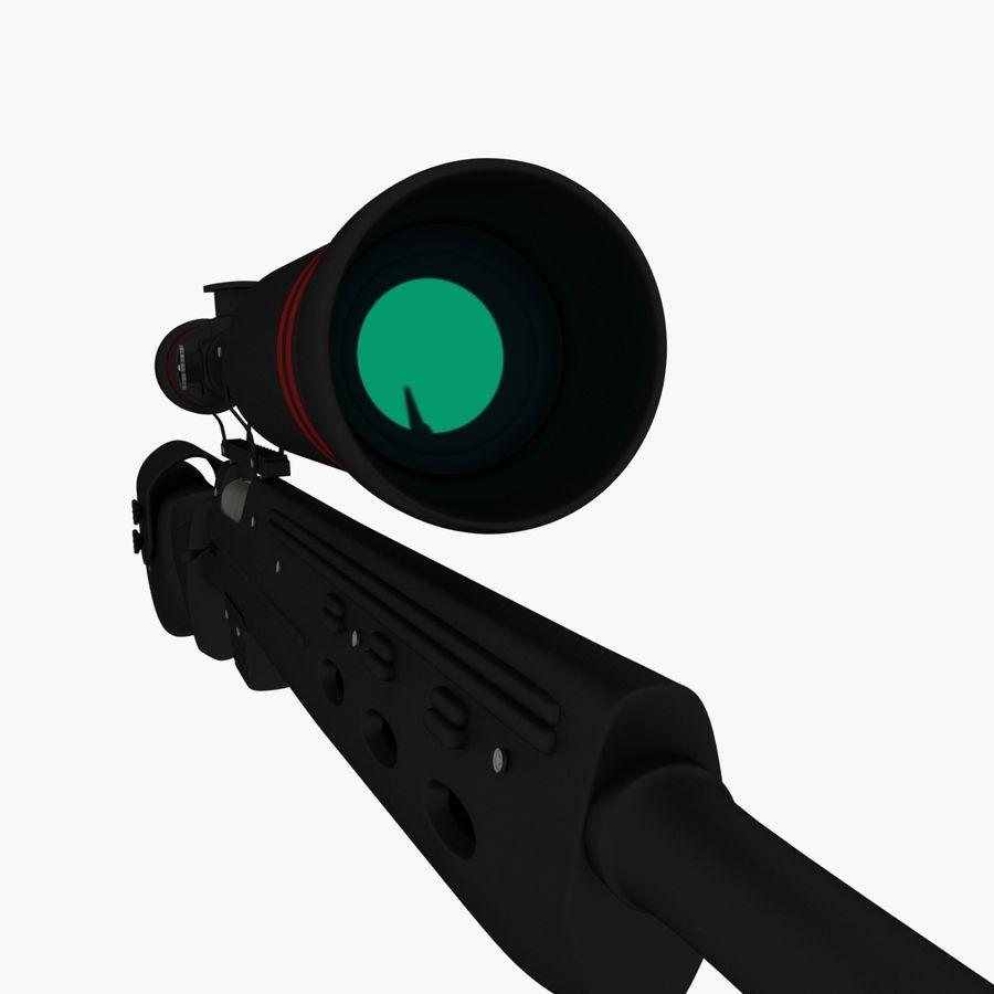 ライフル royalty-free 3d model - Preview no. 10