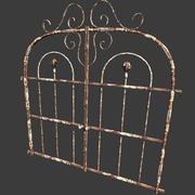 ржавые ворота 3d model