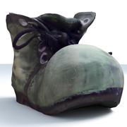 CARTOON BOOT DECO 3d model