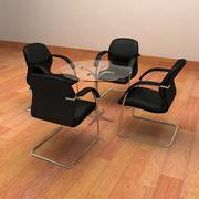 Realistic Meeting Chairs 3d model