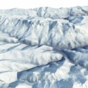 Dağ Kümesi Soçi 2014 Arazi 3d model
