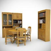 Mobília de grupo 90's 3d model