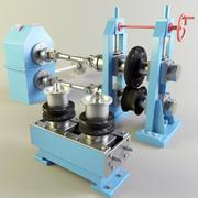 Mill rolls 3d model