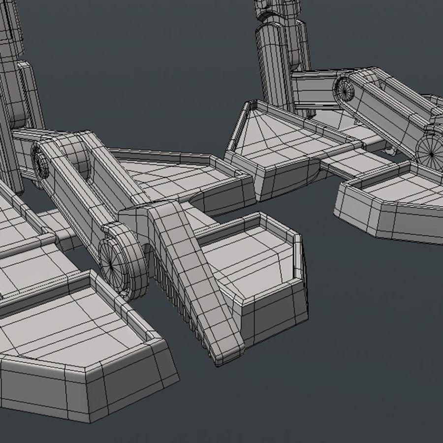 ATRT Walker royalty-free 3d model - Preview no. 8