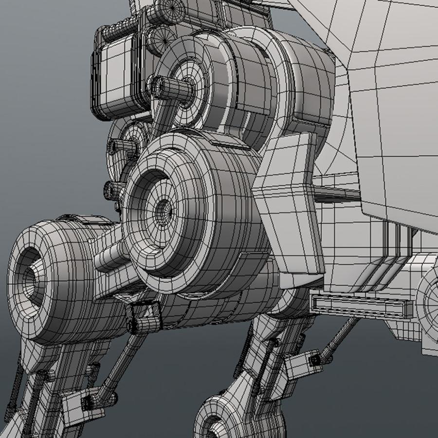 ATRT Walker royalty-free 3d model - Preview no. 7