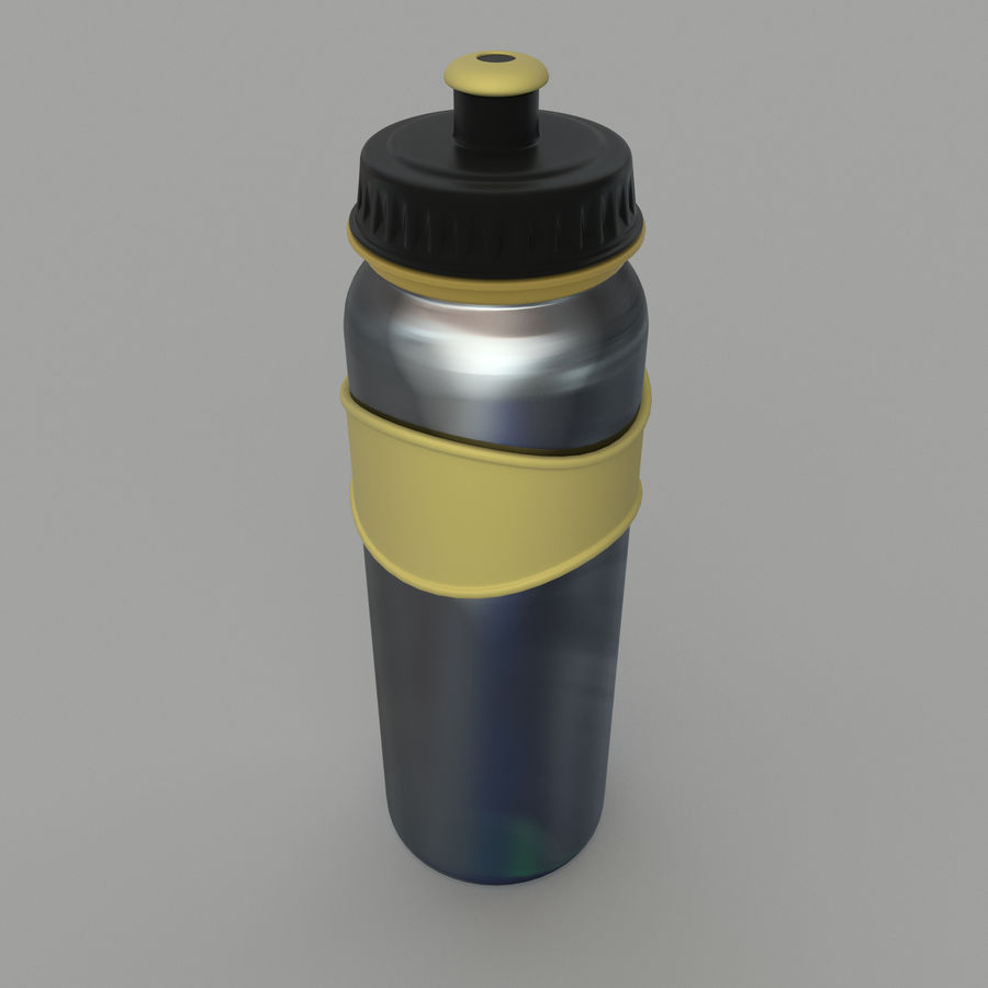 Drink bottle royalty-free 3d model - Preview no. 7