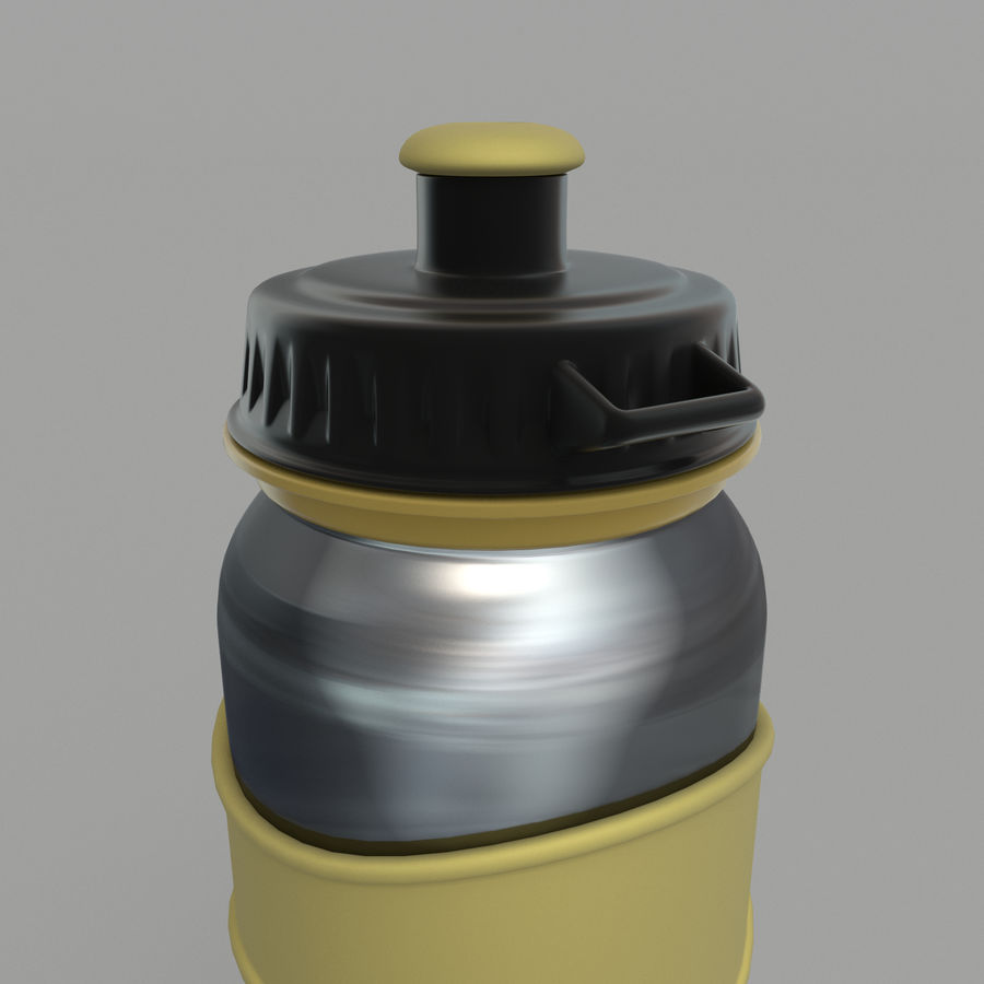 Drink bottle royalty-free 3d model - Preview no. 3