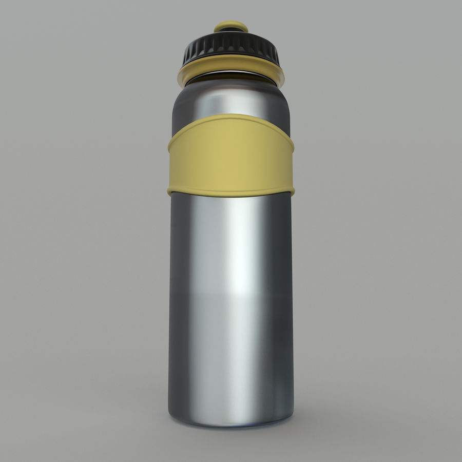 Drink bottle royalty-free 3d model - Preview no. 4