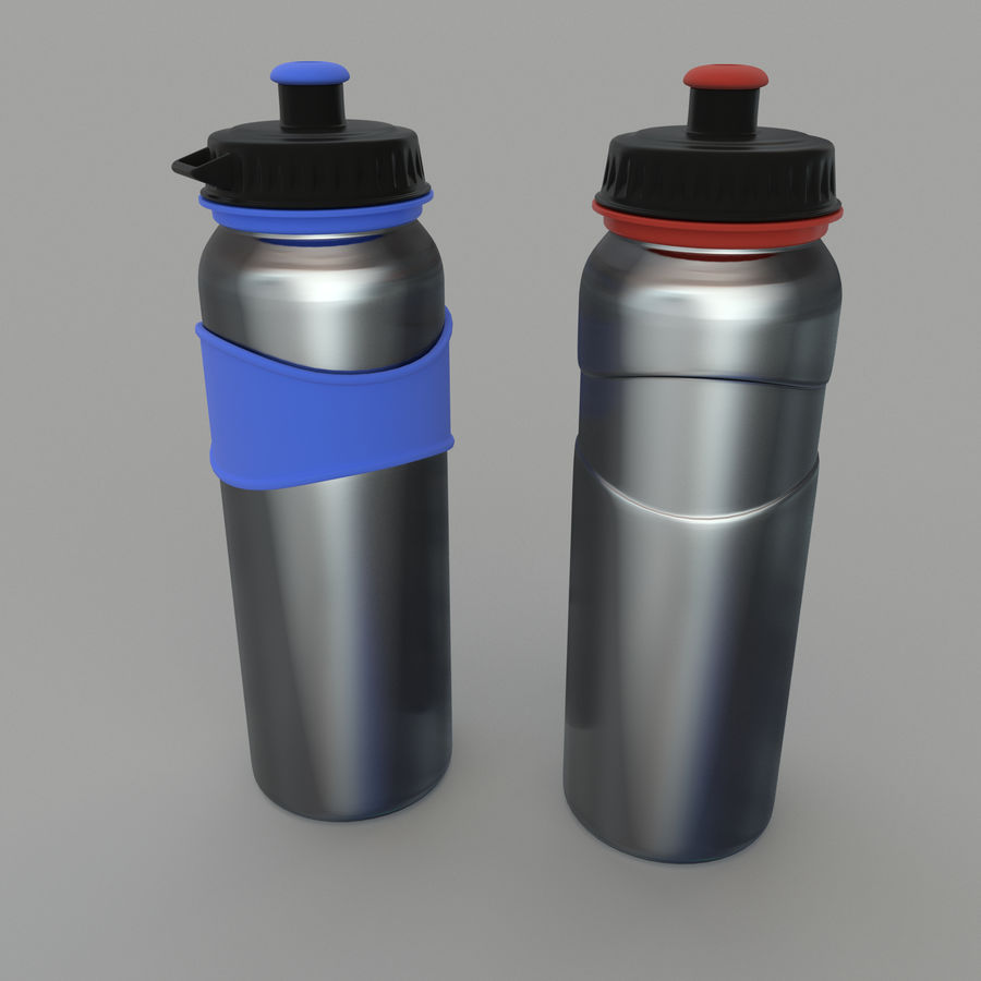 Drink bottle royalty-free 3d model - Preview no. 1