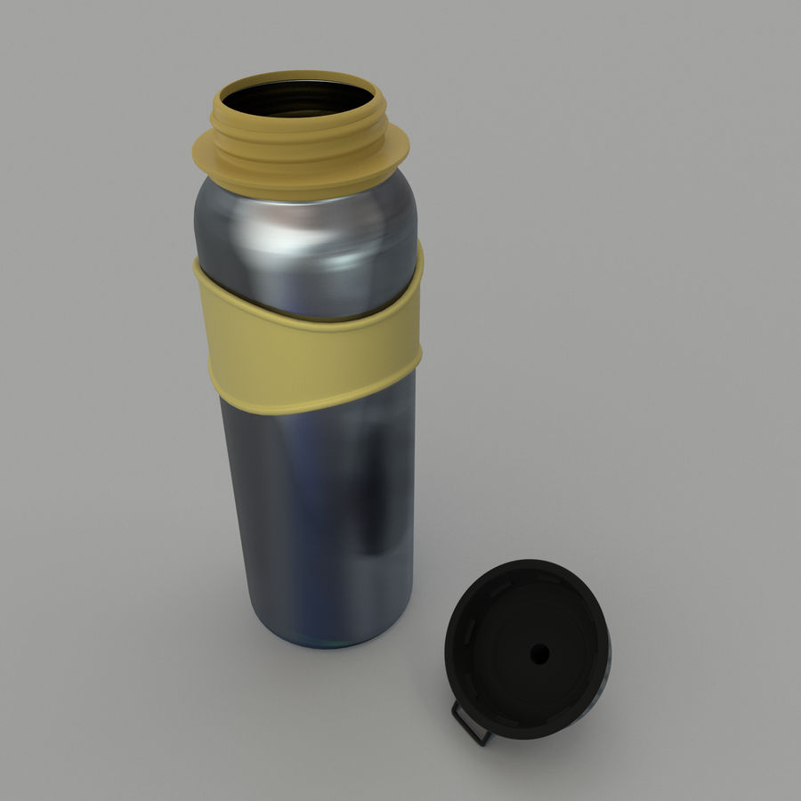 Drink bottle royalty-free 3d model - Preview no. 5