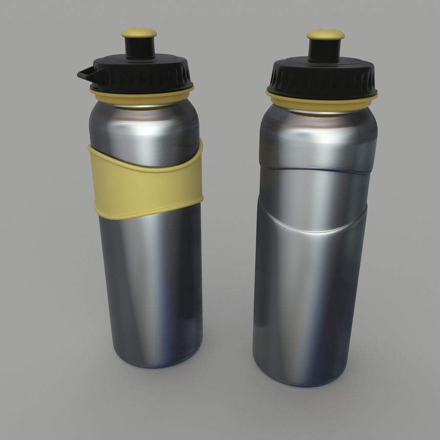 Drink bottle royalty-free 3d model - Preview no. 8