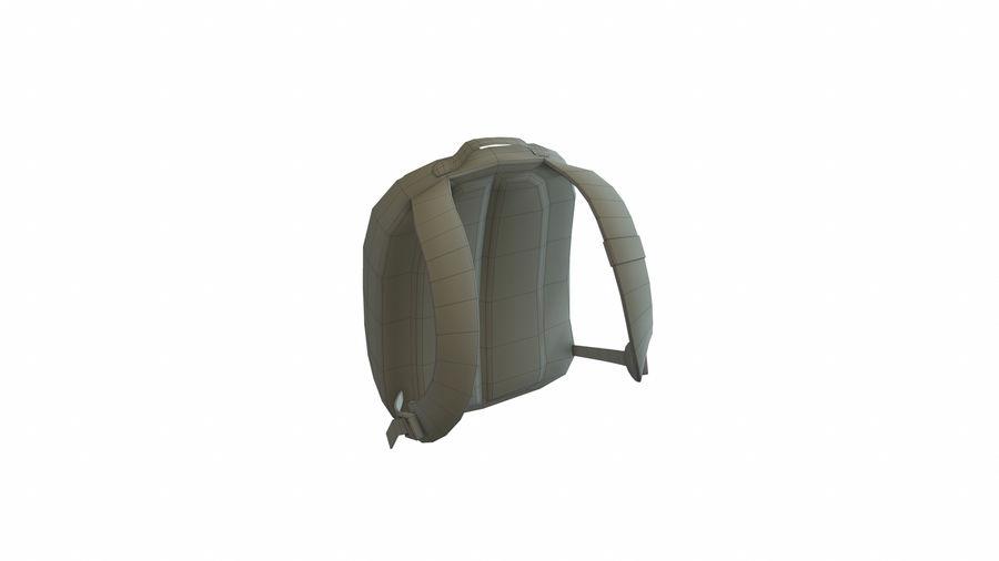 Рюкзак royalty-free 3d model - Preview no. 8