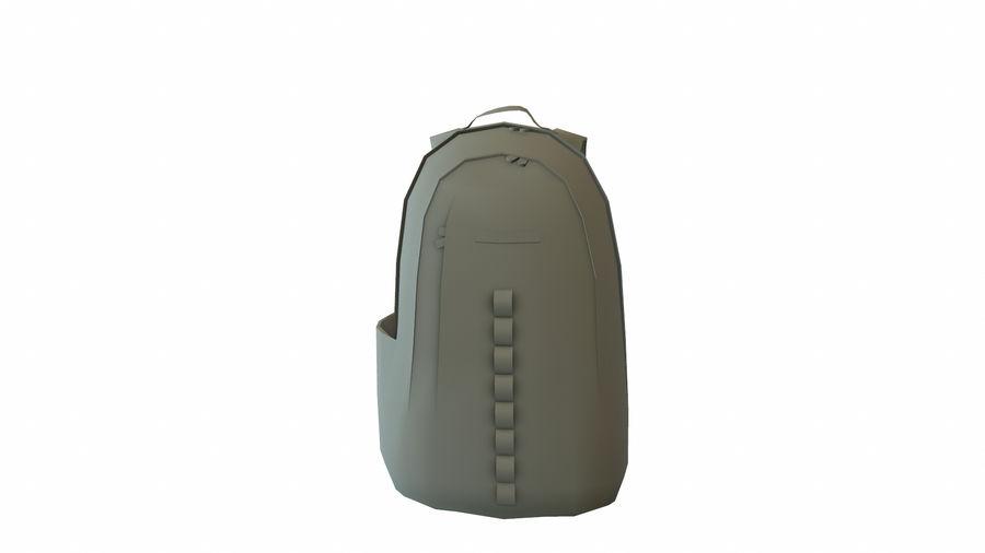 Рюкзак royalty-free 3d model - Preview no. 6