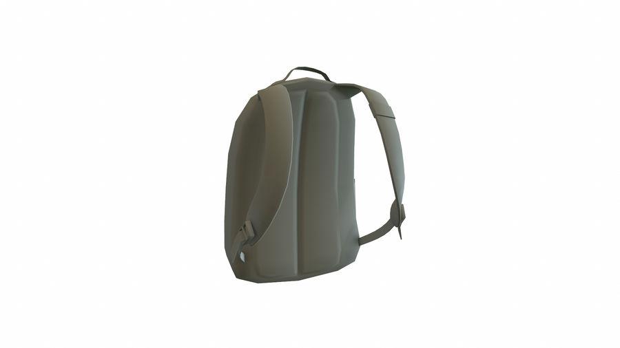 Рюкзак royalty-free 3d model - Preview no. 4