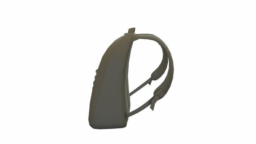 Рюкзак royalty-free 3d model - Preview no. 5