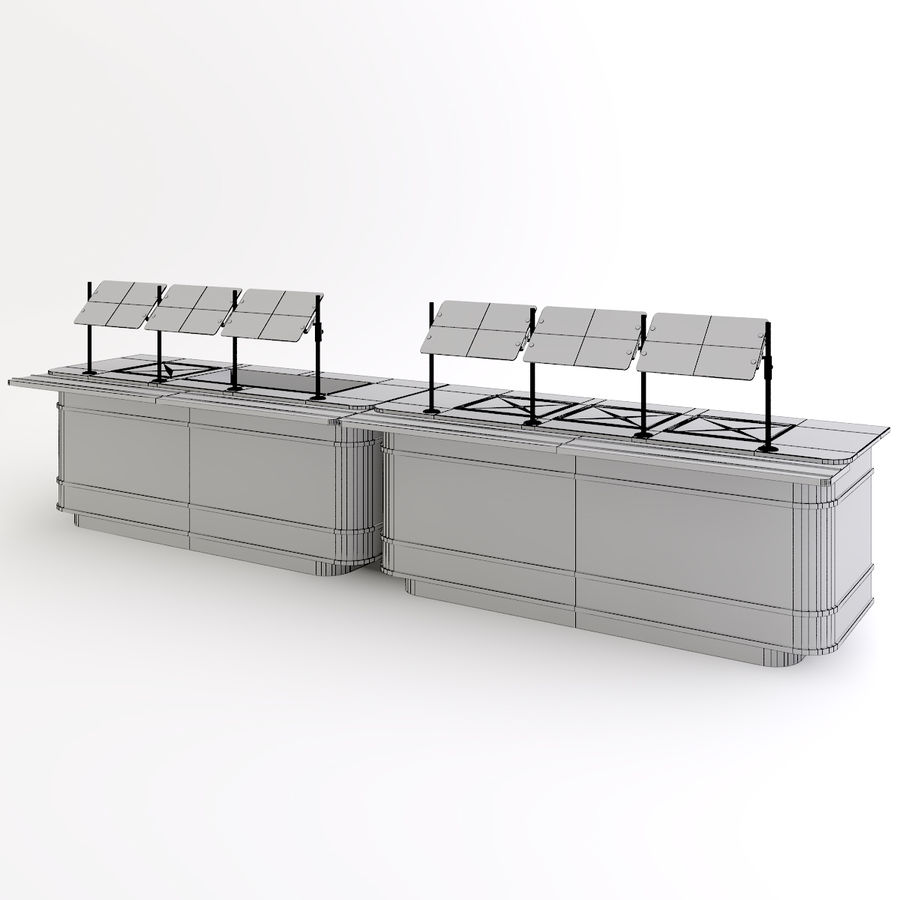 Mobile Serving Counter 3D Model $20 -  max - Free3D