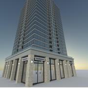 Hi Rise Condo 3d model