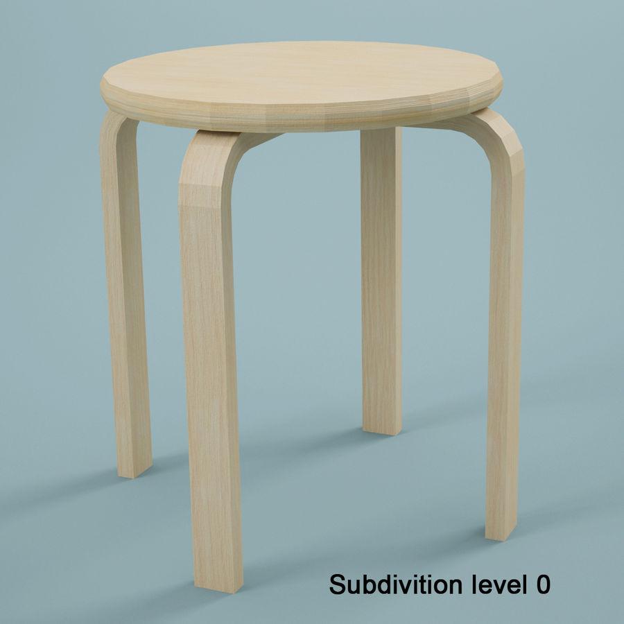 Tabouret En Bois Ikea ikea stool 3d model $14 - .max .fbx .3ds .obj - free3d