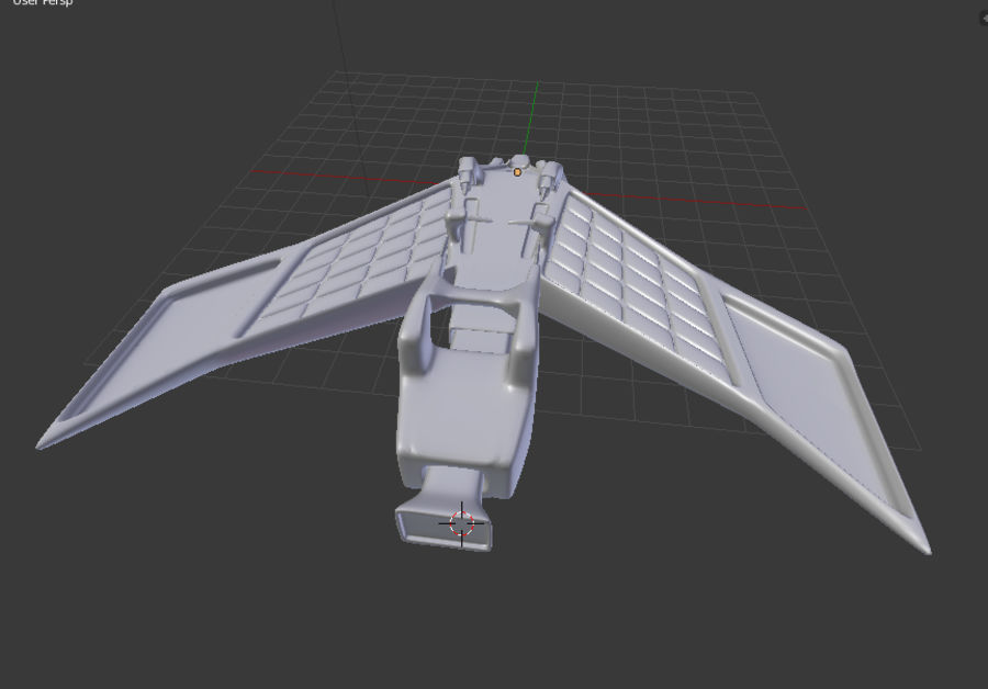 SpaceShip Tessarae royalty-free 3d model - Preview no. 13