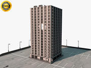 High Rise Tower Building 3d model