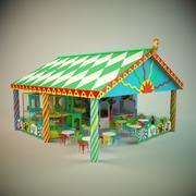 Cafe kids 3d model