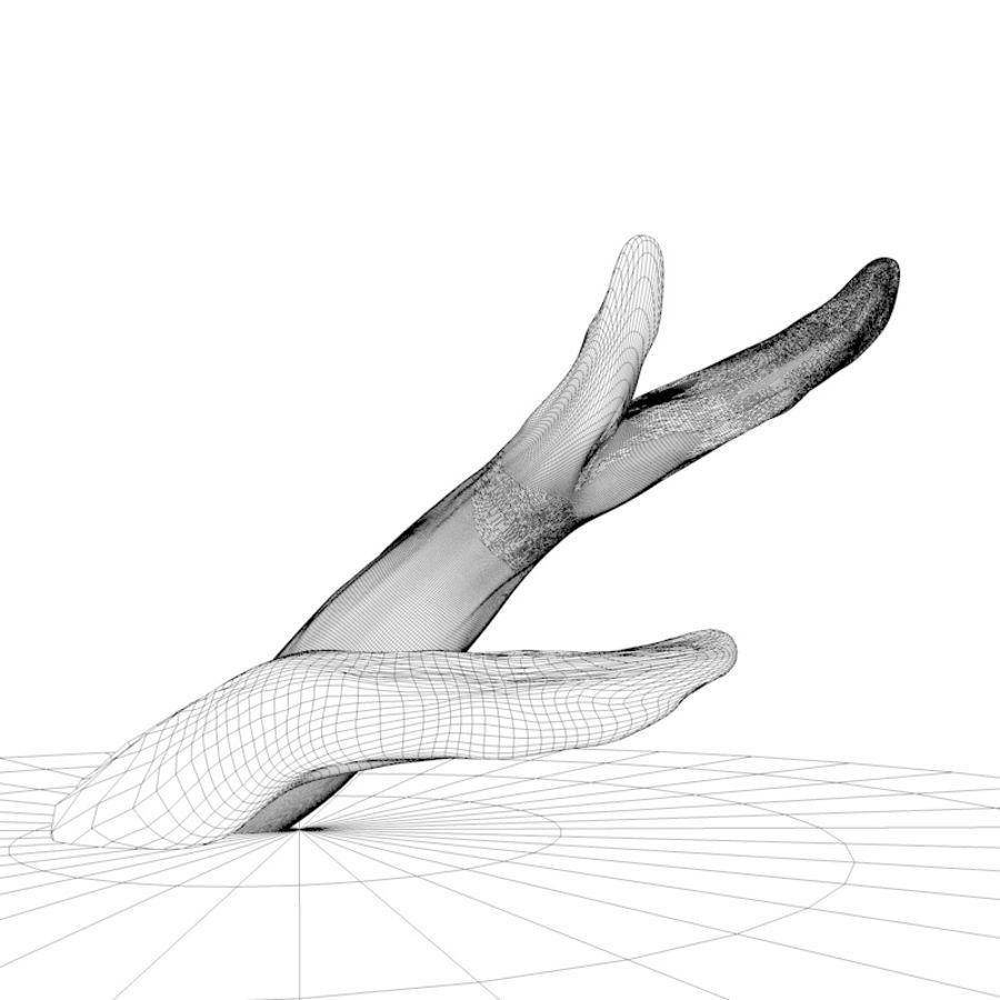 branche de bois pour aquarium royalty-free 3d model - Preview no. 4