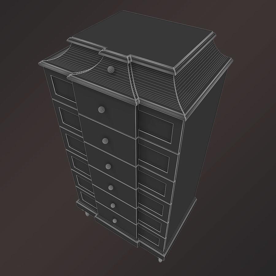 Baker Bureau royalty-free 3d model - Preview no. 4