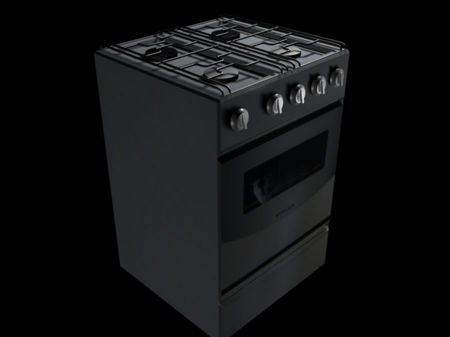 Oven prop royalty-free 3d model - Preview no. 1