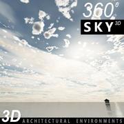 Sky 3D Day 001 3d model