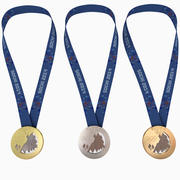 Olympic Medals - Sochi 2014 Olympic Games 3d model