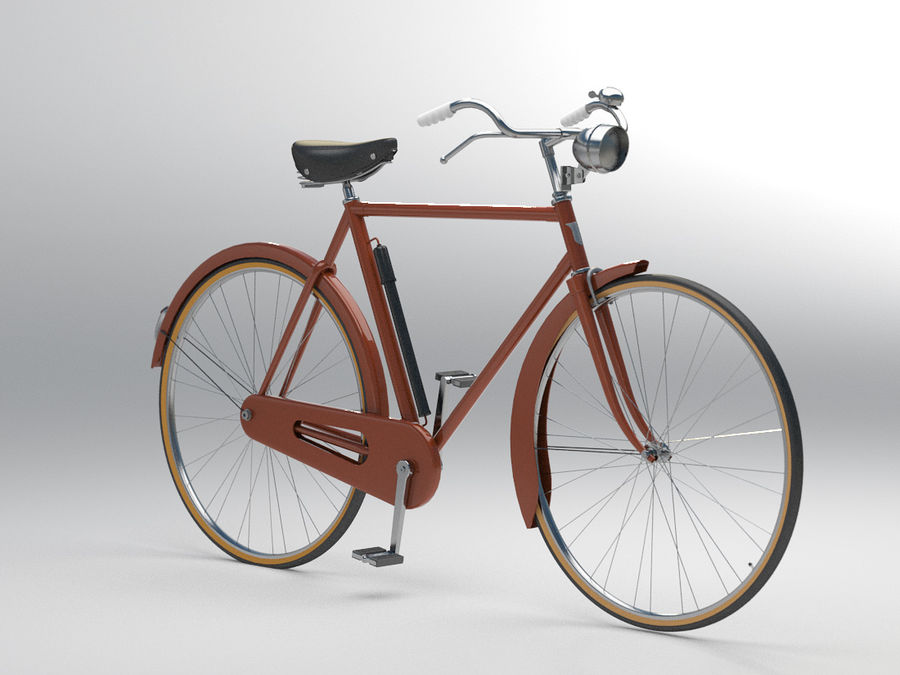 Bike royalty-free 3d model - Preview no. 2