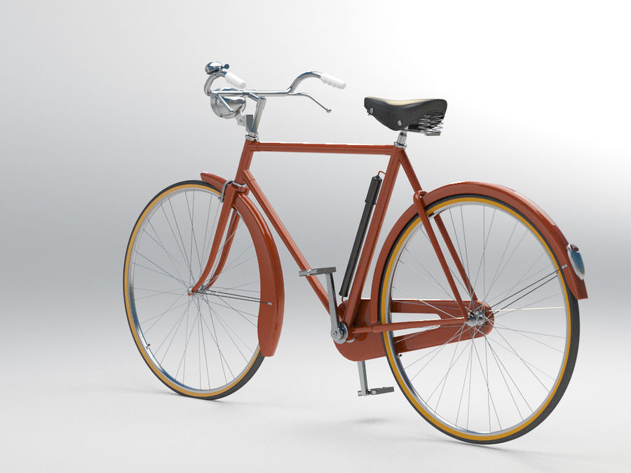 Bike royalty-free 3d model - Preview no. 4