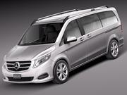 Mercedes-Benz V-Class 2015 3d model