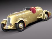 Duesenberg SJ Special Mormon Meteor 1935 3d model