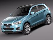 Mitsubishi ASX  2011 3d model