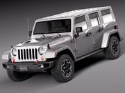 Jeep Wrangler Rubicon 2014 3d model
