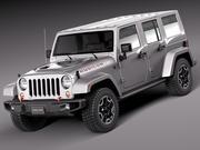 Джип Рэнглер Рубикон 2014 3d model