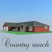山地牧场 3d model