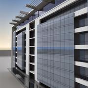 Modern Building 014 3d model