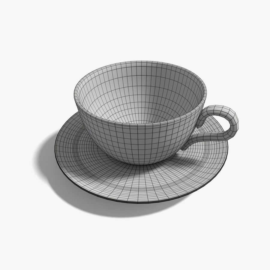 Coffee Cup royalty-free 3d model - Preview no. 7
