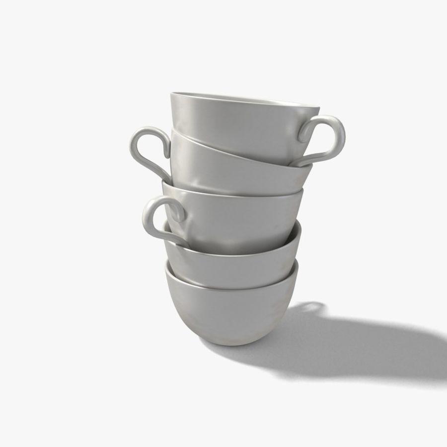 Kahve fincanı royalty-free 3d model - Preview no. 5
