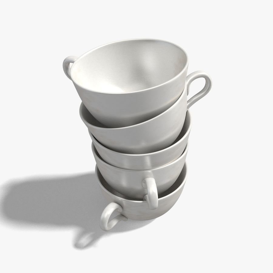 Coffee Cup royalty-free 3d model - Preview no. 6