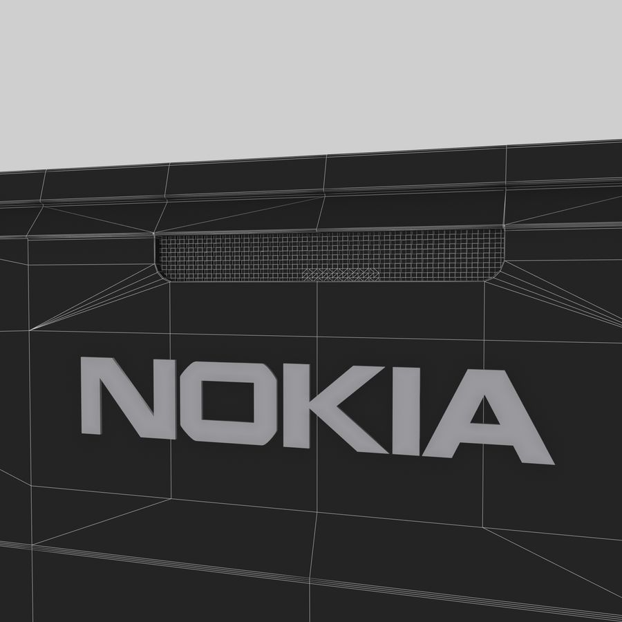 Nokia X royalty-free 3d model - Preview no. 12