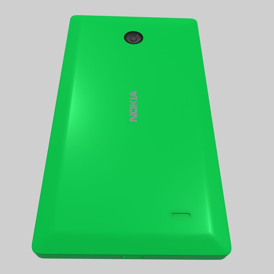 Nokia X royalty-free 3d model - Preview no. 26