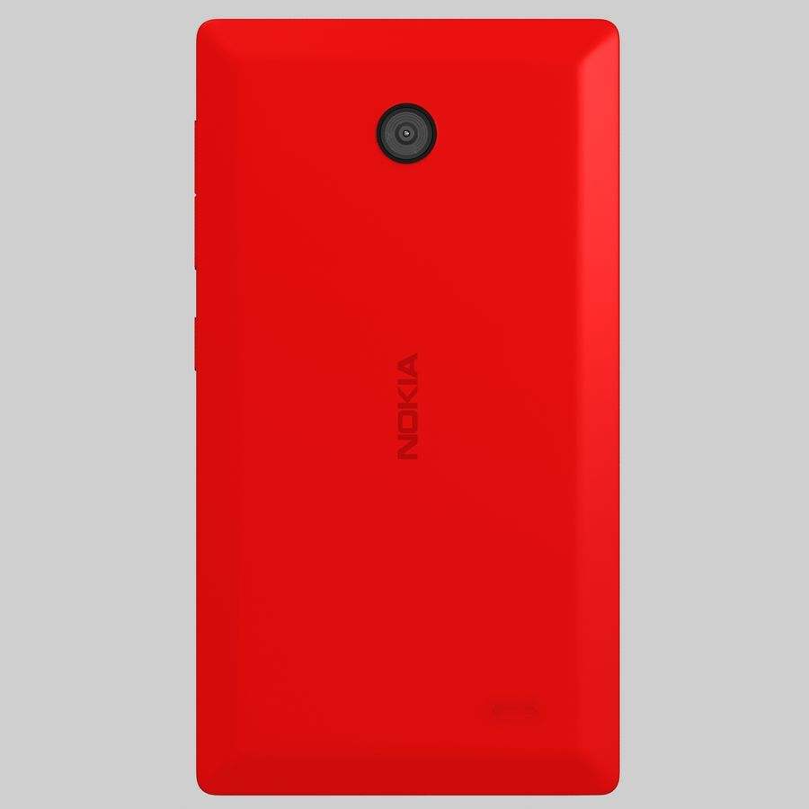 Nokia X royalty-free 3d model - Preview no. 11