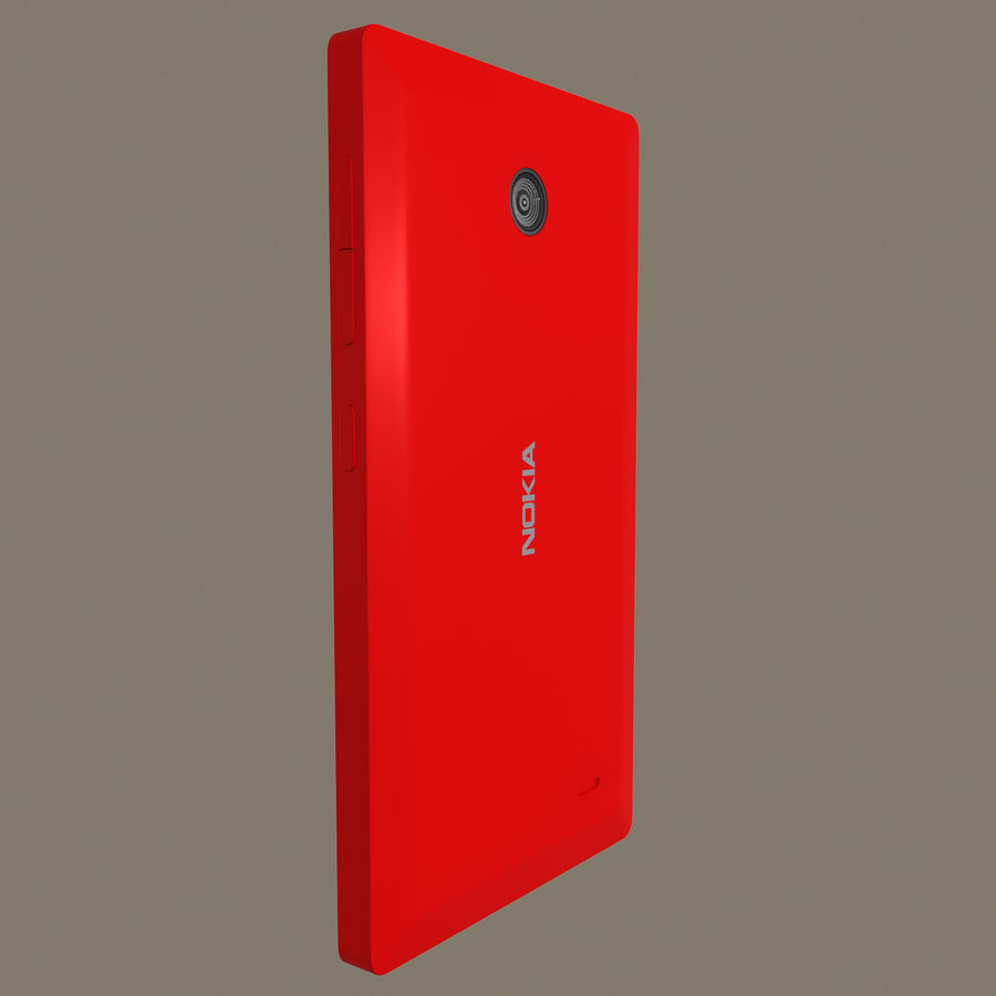 Nokia X royalty-free 3d model - Preview no. 22