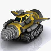 Armoured Drill Vehicle 3d model