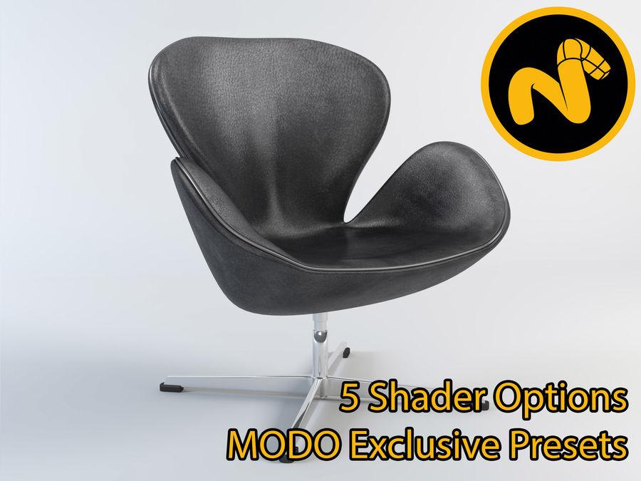 jacobsen swan chair 1 3d model 5 lxo free3d