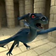 Little Dragon 3d model